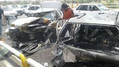 نقاط حادثه خیز رانندگی شهر کرمانشاه را بشناسید