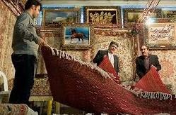 برپایی نمایشگاه سراسری فرش دستباف در کرمانشاه