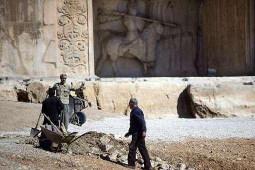 مجموعه تاریخی فرهنگی تاق بستان در مراحل پایانی ساماندهی است